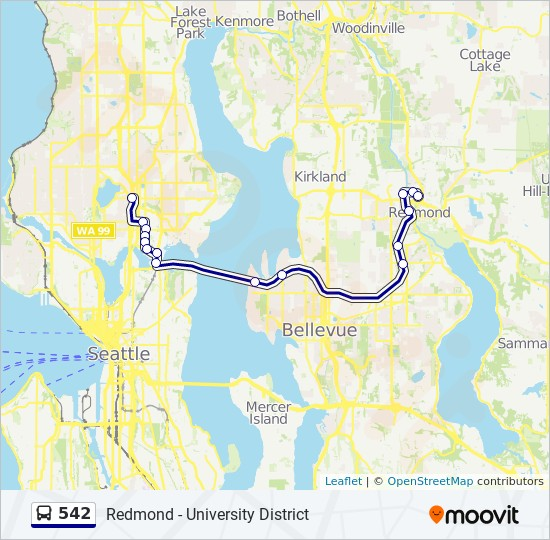 542 Route Time Schedules Stops Amp Maps Green Lake P Amp R