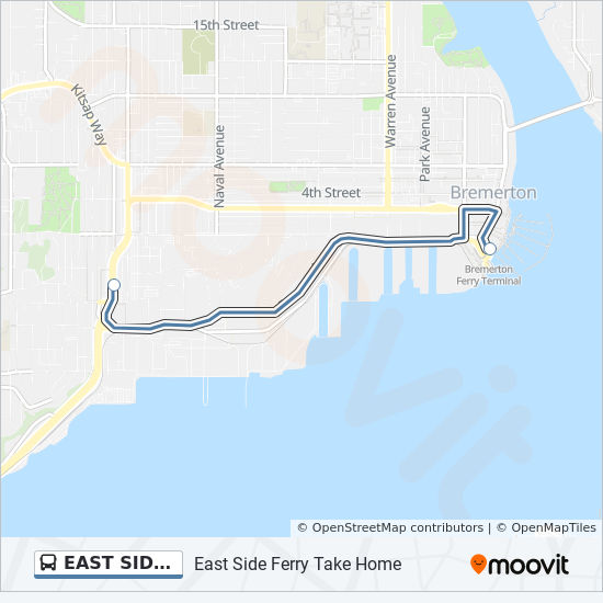 East Side Ferry Take Home Route Time Schedules Stops