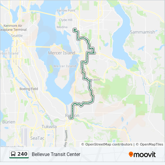 240 Route Time Schedules Stops Amp Maps Renton