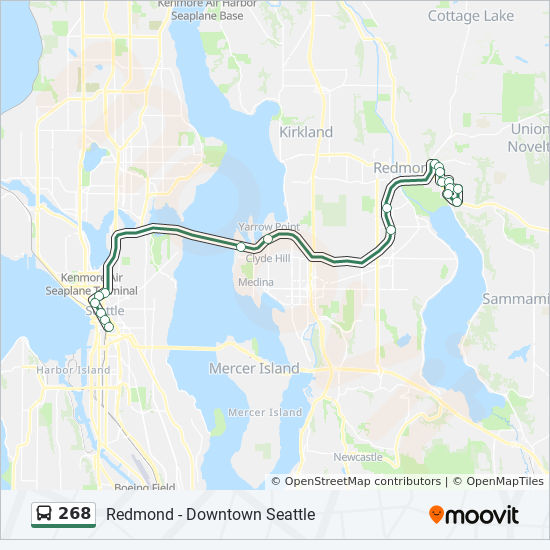 268 Route Time Schedules Stops Amp Maps Bear Creek P Amp R