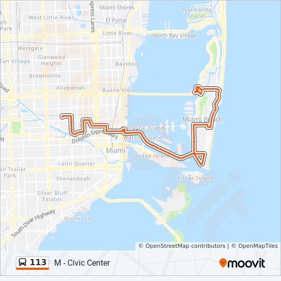 113 Route: Time Schedules, Stops & Maps - M - Mt Sinai Hospital
