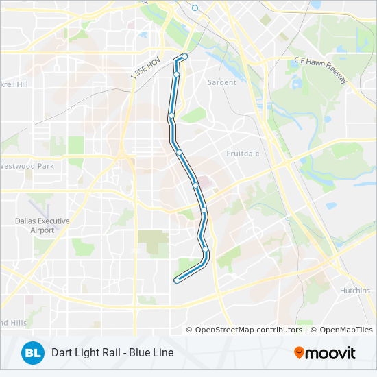 BLUE Route: Time Schedules, Stops & Maps