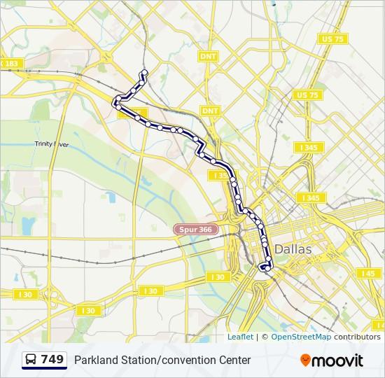 749 Route: Time Schedules, Stops & Maps - Inbound ...