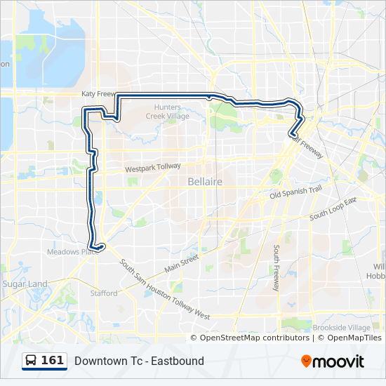 161 Route Time Schedules Stops Amp Maps W Bellfort P Amp R