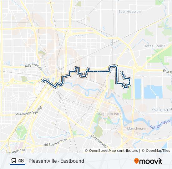 48 Bus Line Map
