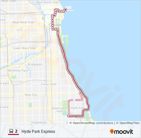 2 Route Time Schedules Stops Maps Northbound Navy Pier