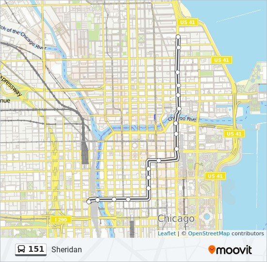 151 Route: Time Schedules, Stops & Maps - Northbound - Water