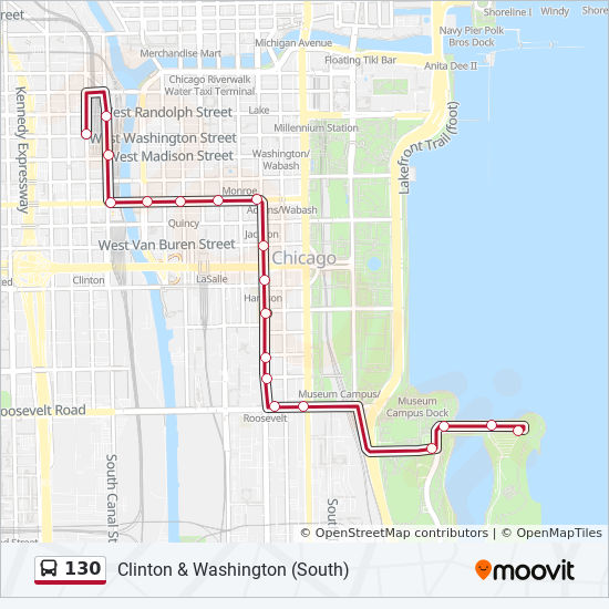 Chicago Museums Map on