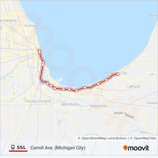Transit Chicago Map.Ssl Route Time Schedules Stops Maps Gary Metro Center