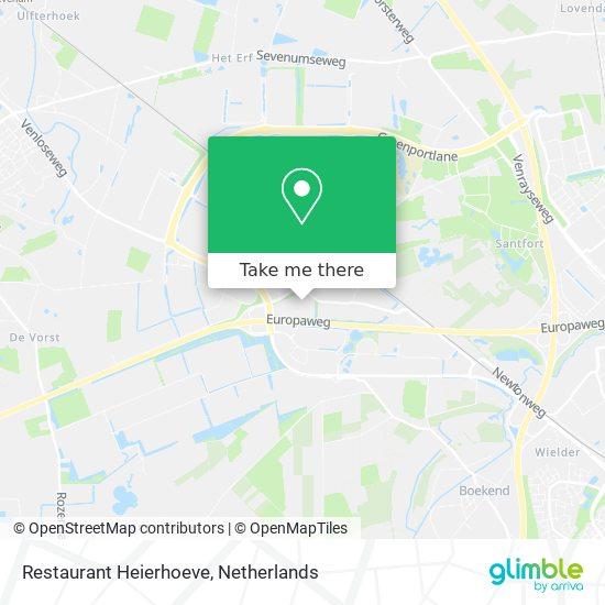Restaurant Heierhoeve map