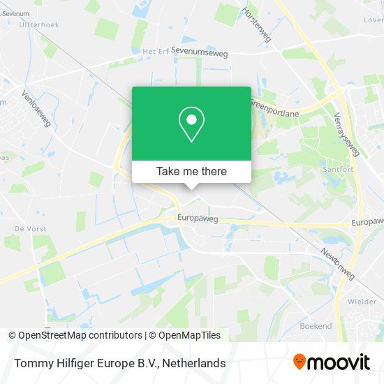 Tommy Hilfiger Europe B.V. map