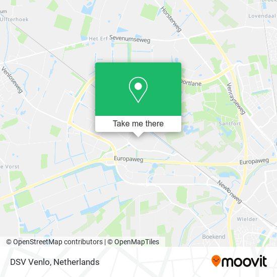 DSV Venlo map