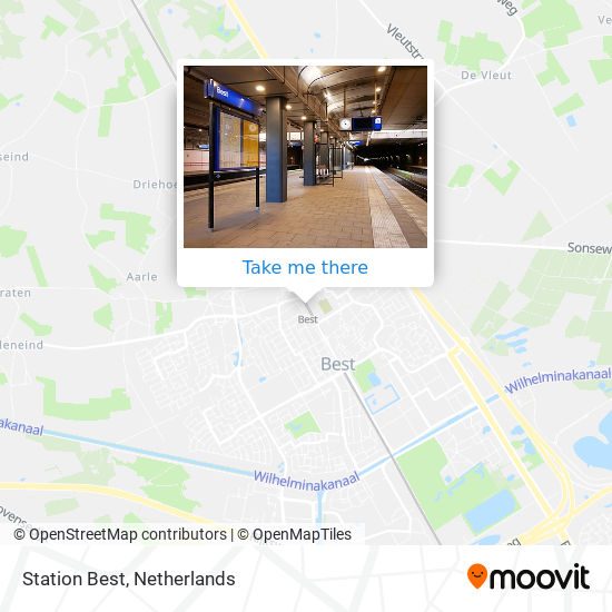 Station Best Karte