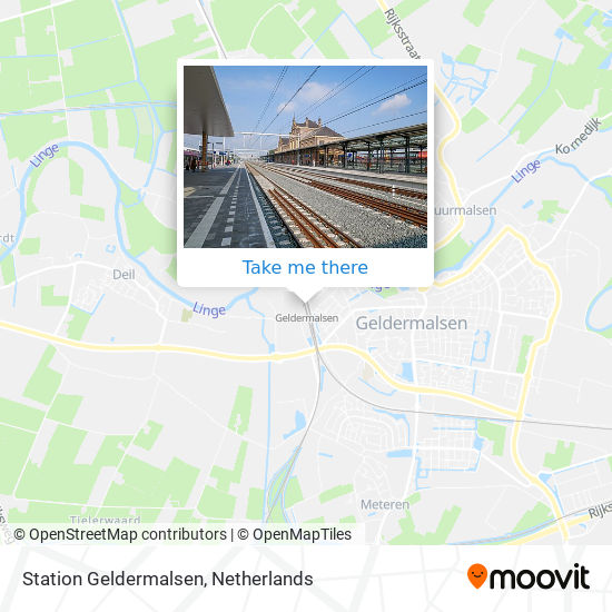 Mapa Station Geldermalsen