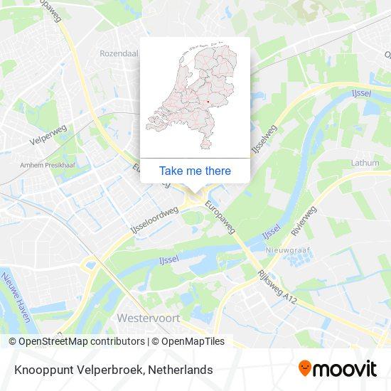 Knooppunt Velperbroek Karte