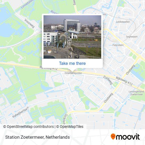 Mapa Station Zoetermeer