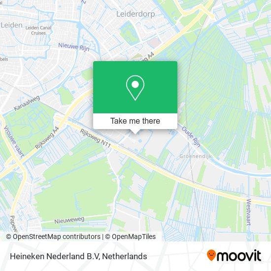 Heineken Nederland B.V map