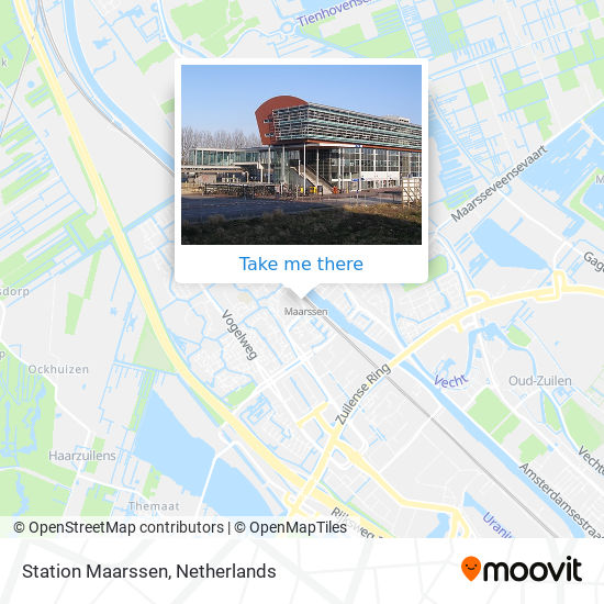 Station Maarssen Karte