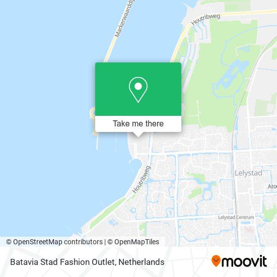 Mapa Batavia Stad Fashion Outlet