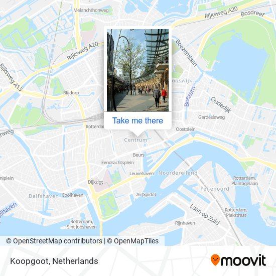 Mapa Koopgoot