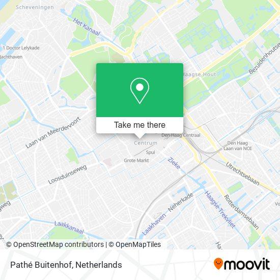 Pathé Buitenhof map