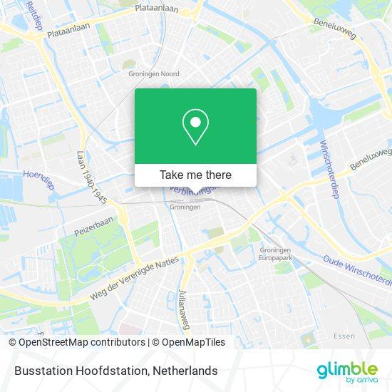 Mapa Busstation Hoofdstation