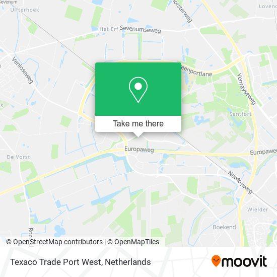 Texaco Trade Port West map