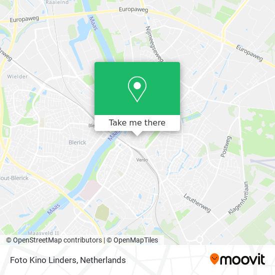 Foto Kino Linders map
