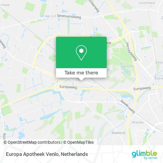 Europa Apotheek Venlo map
