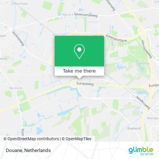 Douane map