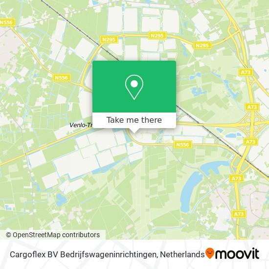 Cargoflex BV Bedrijfswageninrichtingen Karte