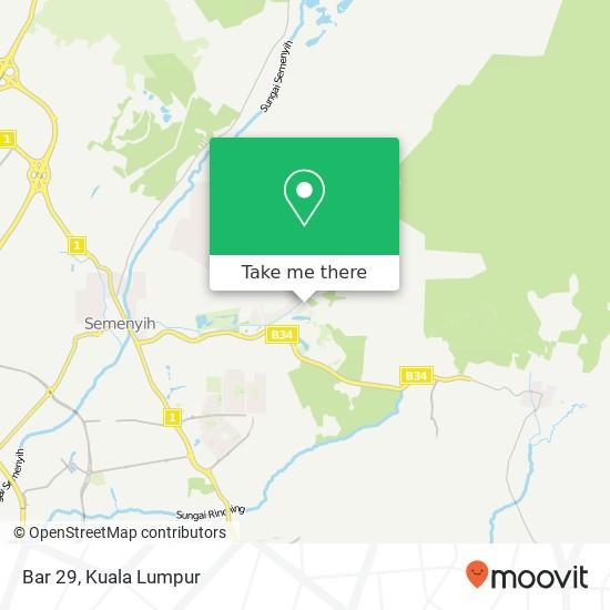 Bar 29 map