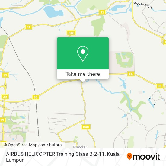 AIRBUS HELICOPTER Training Class B-2-11 map