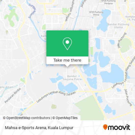 Mahsa e-Sports Arena map