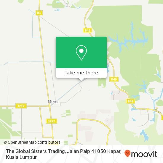 The Global Sisters Trading, Jalan Paip 41050 Kapar map