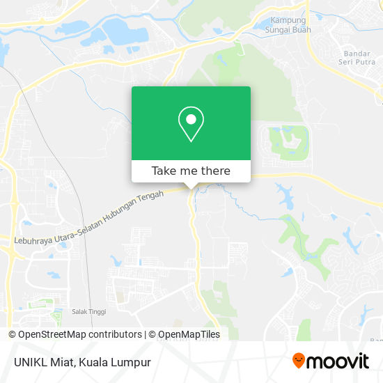 UNIKL Miat map