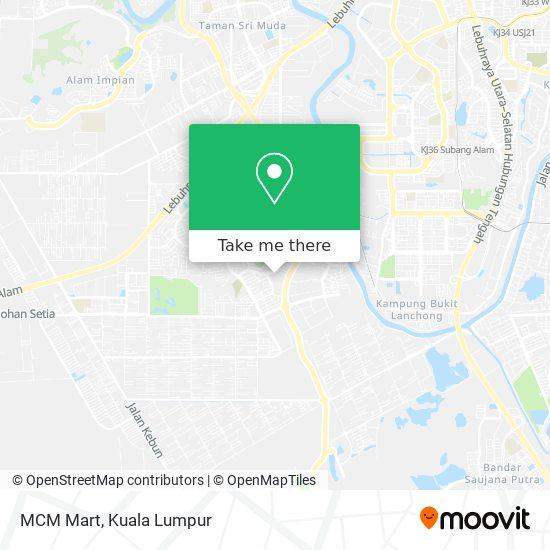 MCM Mart map