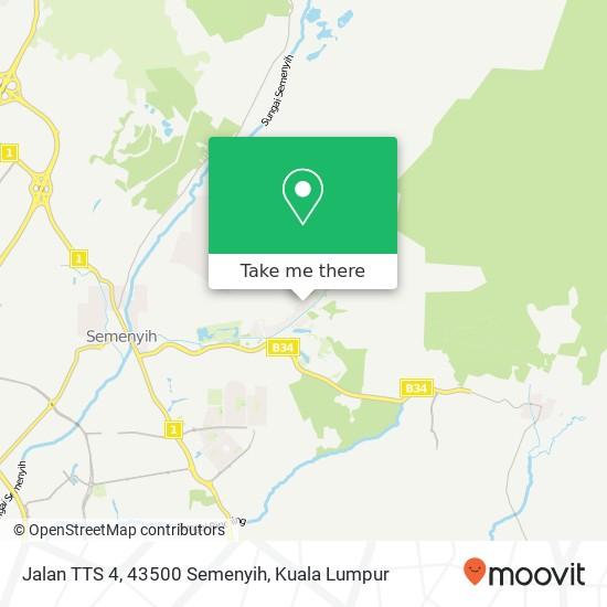 Jalan TTS 4, 43500 Semenyih map