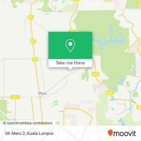 SK Meru 2, Jalan Paip Kiri 40170 Kapar map