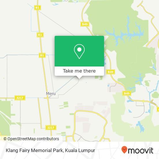 Klang Fairy Memorial Park map
