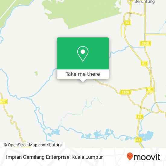 Impian Gemilang Enterprise, Jalan Cemperaisari 1B 48010 Serendah map