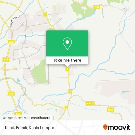 Klinik Famili map