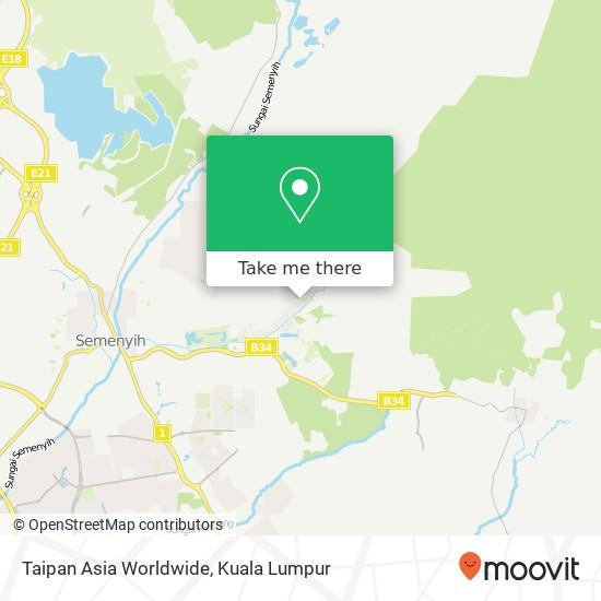 Taipan Asia Worldwide, Jalan TTS 4 43500 Semenyih map