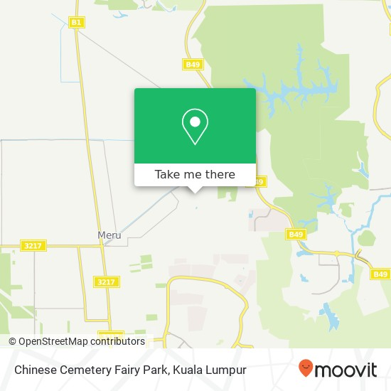 Chinese Cemetery Fairy Park map