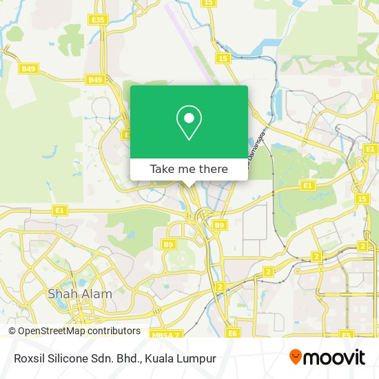 Roxsil Silicone Sdn. Bhd. map