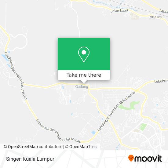 Singer map