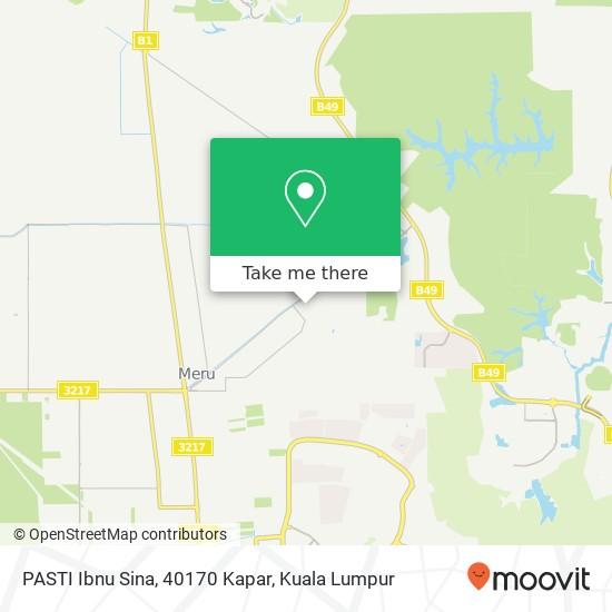 PASTI Ibnu Sina, 40170 Kapar map