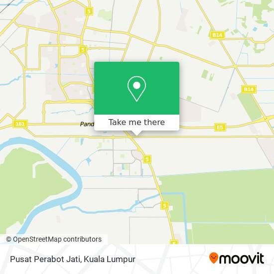 Pusat Perabot Jati map