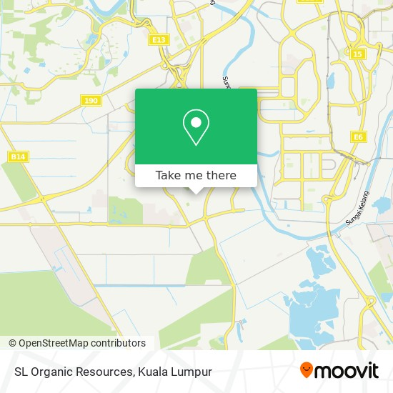 SL Organic Resources map