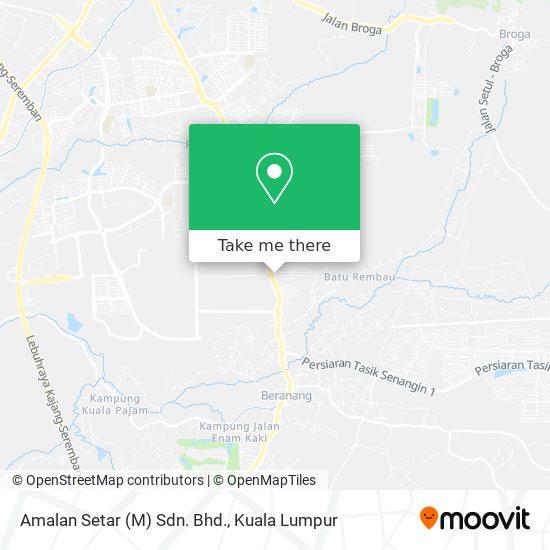 Amalan Setar (M) Sdn. Bhd. map